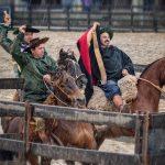 Trio de Julio de Castilhos vence final da Campereada Team Penning
