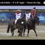 Classificatória Aberta de Esteio – 6º Lugar Machos – Facon do Capão Redondo