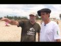 Ginete no surf: Guto Freire aprende a domar uma prancha com Tuca Gianotti